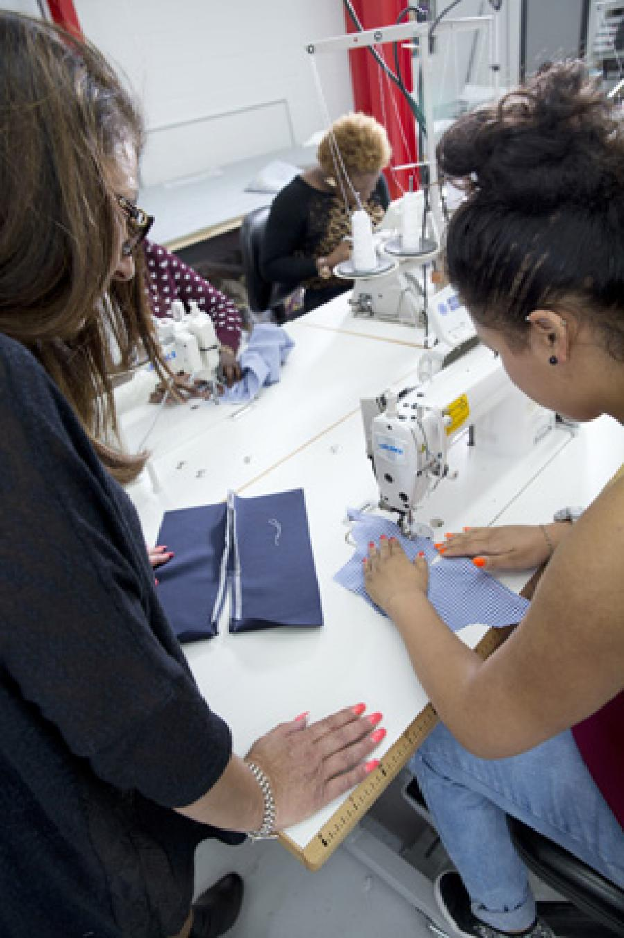 DWP East London to Support A New Generation of Stitchers | TCBL